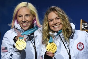 Who Is Carrying The American Flag At The Olympics Closing Ceremony? Jessie Diggins Has The Honor