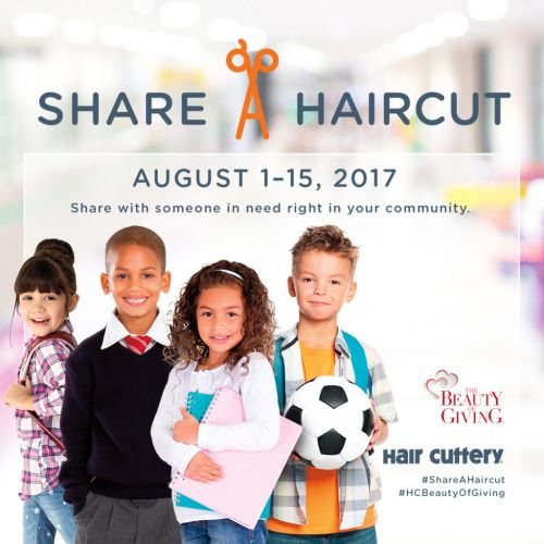 Share-A-Haircut, Help a Child in Need