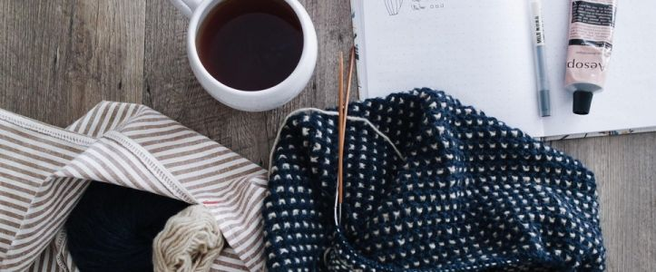 The Mental Health Benefits of Knitting