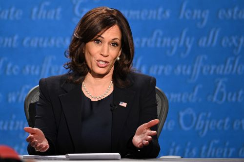Kamala Harris' Quotes About Black Lives Matter & Police Violence At The VP Debate Were So Emotional