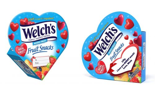 Welch's Fruit Snacks' Heart-Shaped Box For Valentine's Day 2021 Is A Sweet Throwback With A Twist