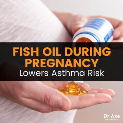 Fish Oil During Pregnancy Lowers Asthma Risk