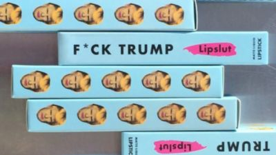 Fight Hate And Help Charlottesville Victims With 'F**k Trump' Lipstick
