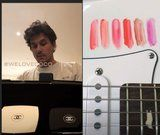 Chanel Sent John Mayer Goodies to Continue His Makeup Journey, and His Swatches Are . . . Original