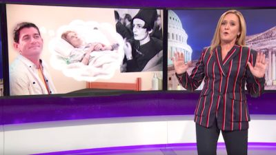 Sam Bee Rips Paul Ryan For 'Jerking It To Thoughts Of Poor People Losing Health Care'