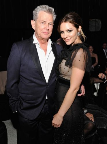 Katharine McPhee & David Foster Got Engaged On Vacation In Italy & I'm Shook