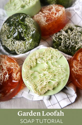 Garden Loofah Soap DIY
