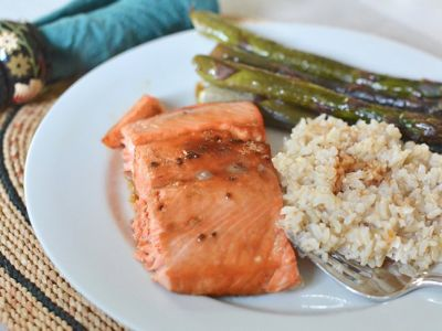 What's For Dinner Tonight? Try This 15-Minute Teriyaki Salmon