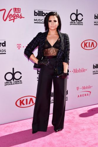 Demi Lovato's 2018 Billboard Music Awards Look Proves She's A Long Lost Cheetah Girl