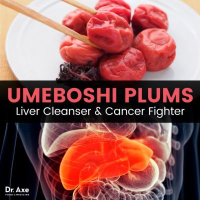 Umeboshi Plums: Liver Cleanser & Cancer Fighter