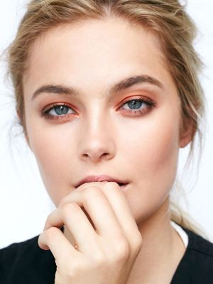 We're Officially Seeing Copper Eye Shadow Everywhere
