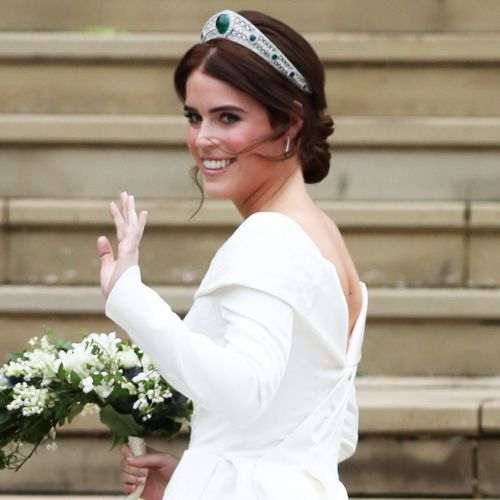 Princess Eugenie Wore the Royal Family's Favorite Nail Polish on Her Wedding Day