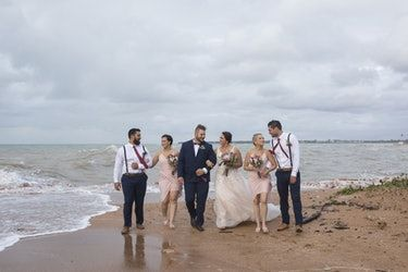 The Photos Of This Couple Getting Married After A Cyclone Will Blow Your Mind