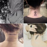 25 Back-of-the-Neck Tiny Tattoos to Inspire Your Next Ink