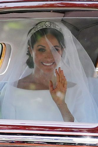 Meghan Markle's Wedding Hairstyle Is Giving Us So Much Life