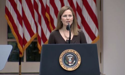 Amy Coney Barrett's Quote About Ruth Bader Ginsburg & Antonin Scalia At Her Nomination Is A Lot