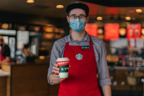 Here's How Starbucks' Free Coffee For Front-Line Workers Deal In December 2020 Works