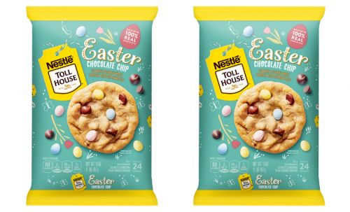 Nestle Tollhouse's Chocolate Chip Cookie Dough With Egg Sprinkles Is A Scoop Of Easter Flavor