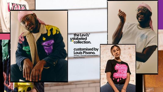 The Levi's x Louis Pisano Collection Is A Genderless Denim Haven