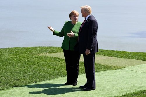 Trump Reportedly Threw Starbursts At Angela Merkel After The Infamous G7 Photo