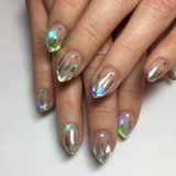Icy Unicorn-Tip Nail Art Looks Like You Dipped Your Fingers in Magic