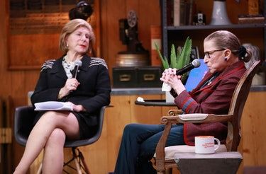 Ruth Bader Ginsburg's Scrunchies Are So Sophisticated & I'm Not Worthy