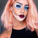 This Makeup Artist Incorporates Her Vitiligo Into the Most Badass Halloween Looks