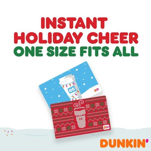 "Dunkin's ""Dozen Days Of Joy"" Program Is Offering $120,000 Worth Of Free Gift Cards"