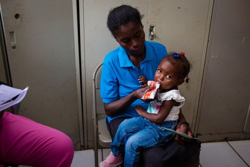 Revisiting Lunie, a Malnutrition Patient in Haiti