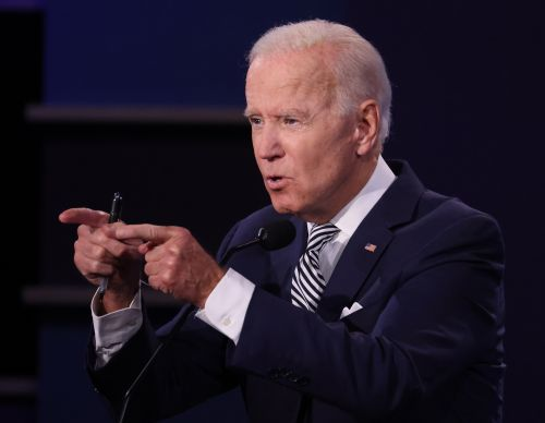 Joe Biden's Quote About Trump's Tax Returns At The Debate Was A Simple & Sweet Burn