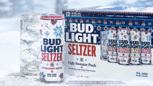 Bud Light Seltzer's Ugly Sweater Pack Includes Festive Flavors Like Peppermint Pattie