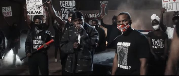 """DaBaby & Roddy Ricch's """"Rockstar"""" Performance At The BET Awards Highlighted Black Lives Matter"""