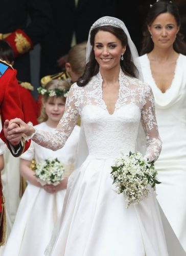 Meghan Markle's Wedding Dress Vs. Kate Middleton's Wedding Dress: The Difference Is In The Details