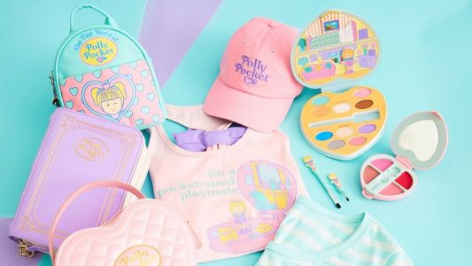 Hot Topic's Polly Pocket Collection Of Makeup & Accessories Will Transport You To 1995
