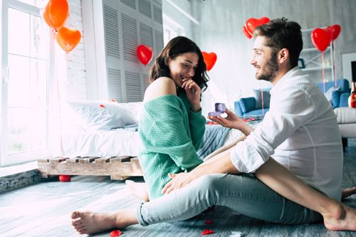 10 At-Home Proposal Stories That Show Home Is Where The Heart Is