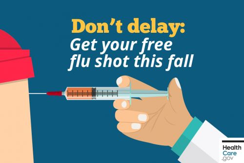 Don't delay: Get your free flu shot this fall