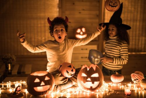 It's Halloween and my kid is scared of everything