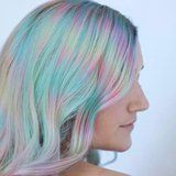 """This New """"Color Misting"""" Technique Is Like Tie-Dye For Your Hair"""
