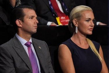 Donald Trump Jr Had An Affair With Aubrey O'Day, Report Says