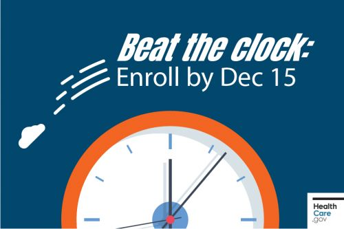 Time is running out: Update, compare & enroll by Dec 15