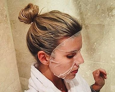 This Sheet Mask Is the Newest Way to Tan Your Face This Summer