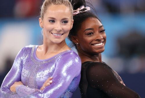 MyKayla Skinner Tweeted About Replacing Simone Biles In The Vault