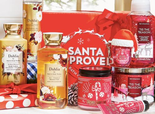 Bath & Body Works Is Basically Giving Away Its Holiday Candles and Lotion for Black Friday