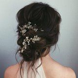 37 Messy Buns That Are Glamorous Enough to Wear on Your Wedding Day
