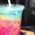 This Rainbow Hangover Iced Latte Is Good For Your Health And Gorgeous AF