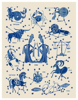 July Horoscopes, Pink Rugs and the Secret to Air-Dried Hair