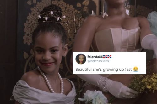 "Blue Ivy's Cameo in ""Black Is King"" Includes a Bold Lip"