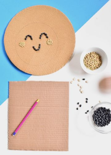 This Easy Bean Art Will Make You Fall In Love With DIYing