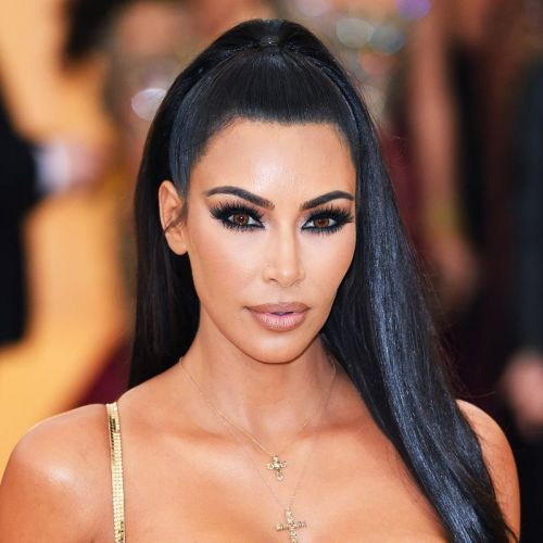 Kim Kardashian Posted a Throwback Makeup Photo and You Have to See Her Brows