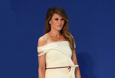 First Lady Melania Trump's Hairdresser Spills All the Details On Her Signature Hairstyle